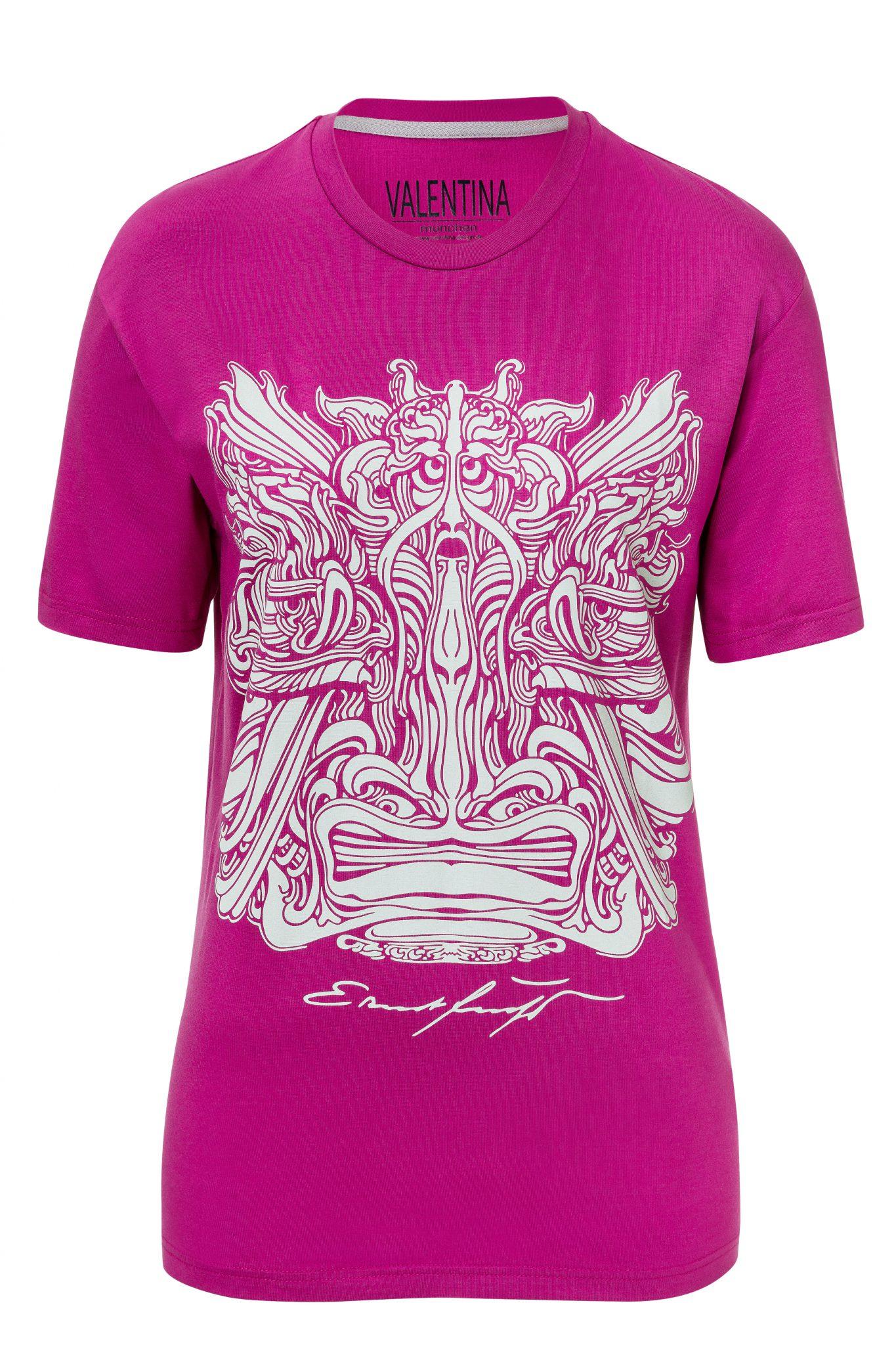 T-Shirt_lila_MusterSilber